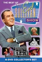 DVD Cover for The Best of the Ed Sullivan Show