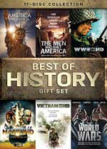 The Best of HIstory Gift Set DVD Cover