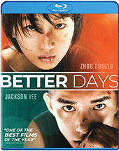Better Days Blu-Ray Cover