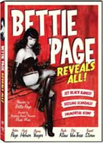 DVD Cover for Bettie Page Reveals All