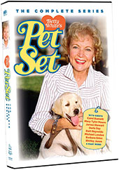 Betty White's Pet Set: The Complete Series DVD Cover