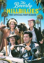 DVD Cover for The Beverly Hillbillies: The Official First Season