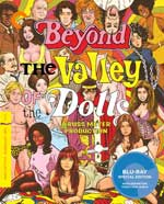 Criterion Collection Blu-Ray cover for Beyond the Valley of the Dolls