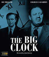 The Big Clock Blu-Ray Cover