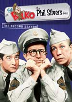 DVD Cover for Sgt. Bilko - The Phil Silvers Show: Season 2