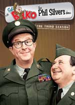 DVD Cover for Sgt. Bilko/The Phil Silvers Show: Season 3