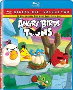Angry Birds Toons: Season One - Volume Two Blu-Ray Cover