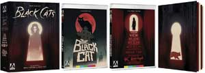 DVD Collection for Edgar Allan Poe's Black Cats: Two Adaptations by Sergio Martino & Lucio Fulci