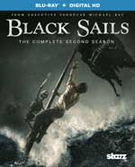 DVD Cover for Black Sails: The Complete Second Season