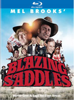 Blazing Saddles 40th Anniversary Blu-Ray Cover