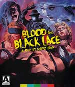 Blood and Black Lace Blu-Ray Cover