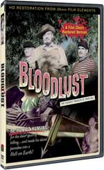 DVD Cover for Bloodlust