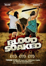 DVD Cover for Blood Soaked