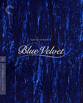 Blue Velvet Criterion Collection Blu-Ray Cover