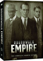 DVD Cover for Boardwalk Emprie: The Complete Fourth Season