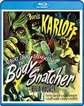 The Body Snatcher Blu-Ray Cover