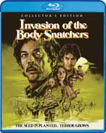 Invasion of the Body Snatchers Collector's Edition Blu-Ray Cover