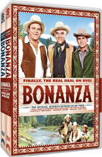 DVD Cover for Bonanza: The Official Seventh Season - Volumes One and Two