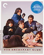 The Breakfast Club Criterion Collection Blu-Ray Cover
