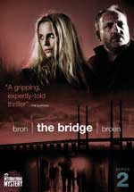 DVD Cover for The Bridge: Season 2