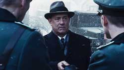 Tom Hanks negotiates a delicate transfer at the height of the Cold War in the top 2015 drama, Bridge of Spies