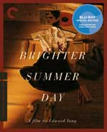 The Criterion Collection Blu-Ray cover for A Brighter Summer Day