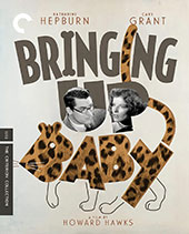 Bringing Up Baby Criterion Collection Blu-Ray Cover