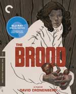 Criterion Collection Blu-Ray Cover for The Brood