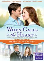 DVD Cover for When Calls the Heart: Heart of the Family