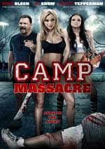 DVD Cover for Camp Massacre