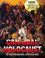 Cannibal Holocaust Blu-Ray Cover
