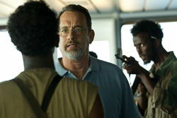 Tom Hanks in one of the top drama films of 2013, Captain Phillips