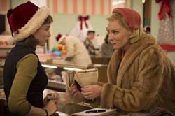 Rooney Mara and Cate Blanchett start an illicit romance in the top 2015 drama, Carol.