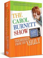 DVD Cover for The Carol Burnett Show: Treasures from the Vault