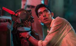 Dev Patel gets down to business in the top sci-fi film of 2015, Chappie