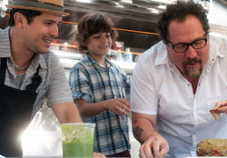 John Lequizamo and Jon Favreau get their food truck on in the top 2014 comedy Chef.