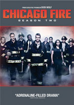DVD Cover for Chicago Fire: Season Two