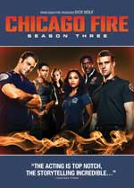 DVD Cover for Chicago Fire: Season 3