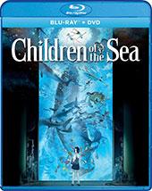 Children of the Sea Blu-Ray Cover