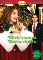DVD Cover for Christmas at the Cartwrights