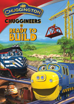 DVD Cover for Chuggington: Chuggineers Ready to Build