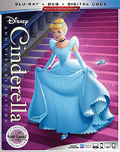 Cinderella 70th Anniversary Blu-Ray Cover
