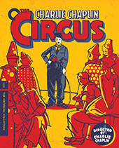The Circus Criterion Collection Blu-Ray Cover