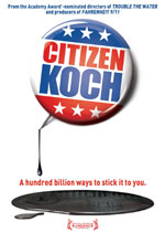 DVD Cover for Citizen Koch