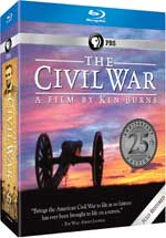 The Civil War 25th Anniversary Commemorative Edition Blu-Ray Cover
