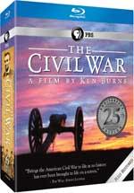 The Civil War 25th Anniversary Commemorative Edition Blu-Ray Cover
