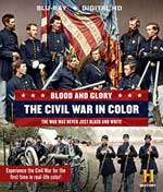 DVD Cover for Blood and Glory: The Civil War in Color