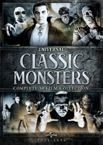 DVD Cover for Universal Classic Monsters Complete 30-Film Collection
