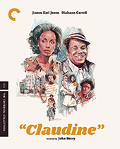 Claudine Criterion Collection Blu-Ray Cover