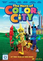 DVD Cover for The Hero of Color City